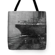Steamship Accident, 1914 Tote Bag