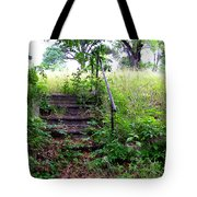 Steps To Yesterday Tote Bag