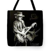Stevie Ray Vaughan 1984 Tote Bag