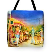 Street Art Fair Tote Bag