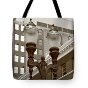 Streetlights - Lansing Michigan Tote Bag