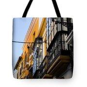 Streets Of Seville Tote Bag