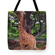 Stretching It Tote Bag