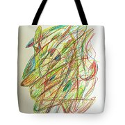 Subconscious Thought No. 1 Tote Bag