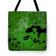 Sudbury Street Map - Sudbury Canada Road Map Art On Colored Back Tote Bag