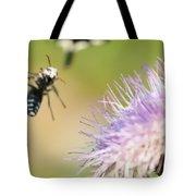 Summer Flowers On Meadow Tote Bag