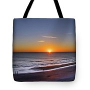 Sunrise Over Atlantic Ocean, Florida Tote Bag