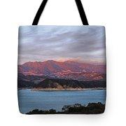 Sunset At Cachuma Lake Tote Bag