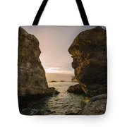 Sunset At Pismo Beach Tote Bag