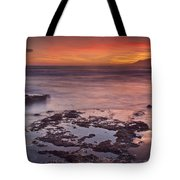 Sunset In Marbella Tote Bag