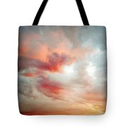 Sunset Sky Tote Bag by Les Cunliffe