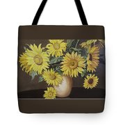 Sunshine And Sunflowers Tote Bag