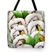 Sushi Platter Tote Bag