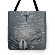 2 Swan Tote Bag