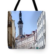 Tallin Estonia Tote Bag