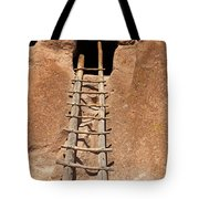 Talus House Front Door Bandelier National Monument Tote Bag