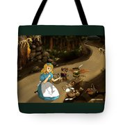 Tammy Meets Cedric The Mongoose Tote Bag