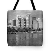 Tampa Skyline From Davis Islands Tote Bag
