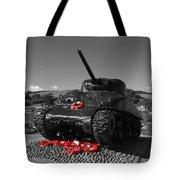 Tank Memorial Tote Bag