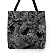 Tapestry Of Gods - Tlaloc Tote Bag