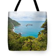 Tasman Sea At West Coast Of South Island Of New Zealand Tote Bag