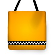 Taxi Background Tote Bag