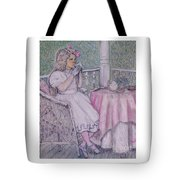 Tea Time For Alexis Tote Bag