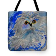Teacup Owl Tote Bag