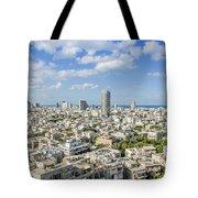 Tel Aviv Israel Elevated View Tote Bag