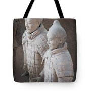 Terracotta Warriors, China Tote Bag