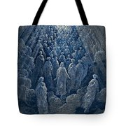 The Angels In The Planet Mercury Tote Bag