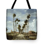 The Avenue At Middelharnis Tote Bag