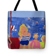 The Beach Girls Tote Bag by Don Larison