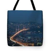 The Bosphorus Bridge  Tote Bag