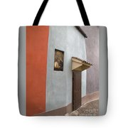 The Brown Door Tote Bag