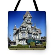 The Carson Mansion Tote Bag