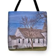 The Church At The Site Of The Old Confederate Soldiers Home Tote Bag