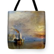 The Fighting Temeraire Tote Bag