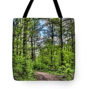 The Forest Path Tote Bag