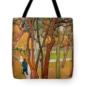 The Garden Of Saint Paul's Hospital Tote Bag