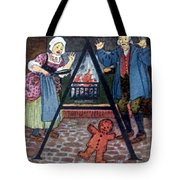 The Gingerbread Boy Tote Bag