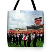 The Going Band From Raiderland Tote Bag by Mae Wertz