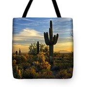 The Golden Southwest  Tote Bag