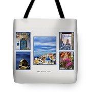 The Greek Isles Tote Bag