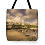 The Harbour At Tenby  Tote Bag