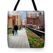 The High Line Urban Park New York Citiy Tote Bag