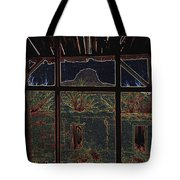 The Lonely Trail Homage 1936 Cabezon Peak Ghost Town Cabezon New Mexico 1971 Tote Bag