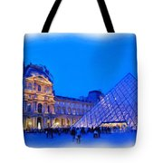 The Louvre Tote Bag