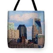 The Nashville Skyline As Viewed Tote Bag