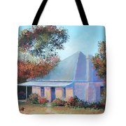 The Old Farm House Tote Bag